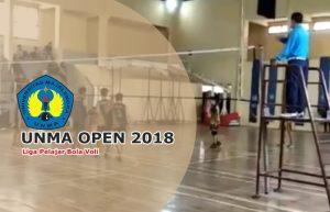 Jadwal dan Hadiah UNMA Open 2018, Pertandingan Liga Pelajar Bola Voli di Universitas Majalengka