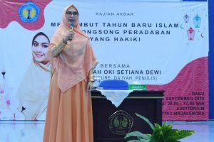 Ustadzah Oki Setiana Dewi Isi Ceramah Di Kampus UNMA Majalengka IGunivmajalengka