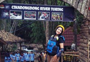 Cikadongdong River Tubing Majalengka IGdewi Meidasari