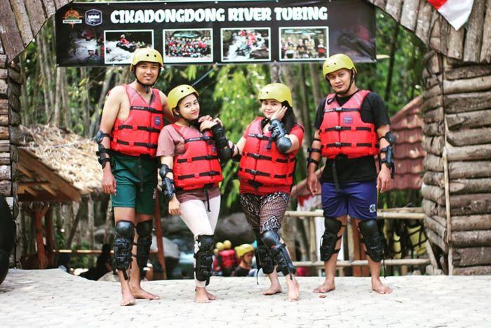 Cikadongdong River Tubing Majalengka IGkalin Amillah