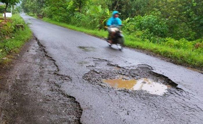 Jalan Rusak Nanggewer Jayi Sukahaji Google