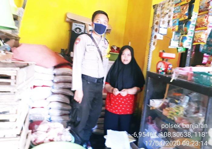 Bantuan Masker Dari Polsek Banjaran FBpolsek.banjaran