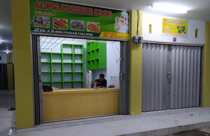 Pembukaan Toko Alifia Frozen Food ALHIDAMART