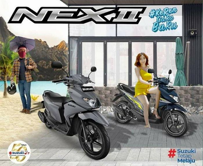 Suzuki Nex II Suzuki.co.id
