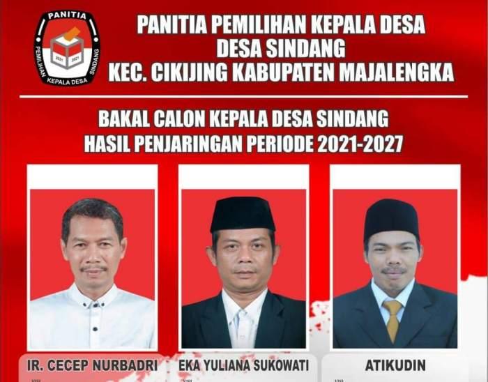 Jadwal Pemilihan Kepala Desa Sindang, Kec Cikijing Majalengka